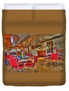 All American Diner 5 Duvet Cover by Bob Christopher