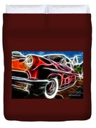 All American Hot Rod Duvet Cover