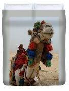 Camel Fashion Duvet Cover