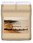 All Hallows Beach Duvet Cover