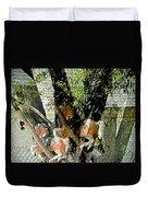 All My Horses Live In Trees Duvet Cover