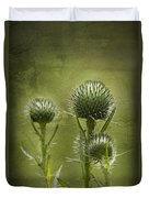All Prickles And Stings Duvet Cover