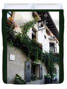 Alley In Bressanone Duvet Cover