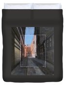 Alley Front Street Layered Duvet Cover
