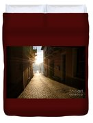 Alley In Backlight  Duvet Cover