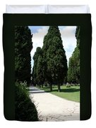 Alley Topkapi Palace Courtyard - Istanbul Duvet Cover