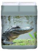 Alligator Cameron Prairie Nwr La Duvet Cover