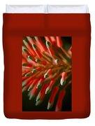 Aloe Bloom Duvet Cover
