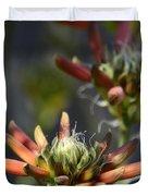 Aloe Vera Blossoms  Duvet Cover