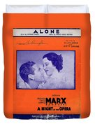 Alone 2 Duvet Cover