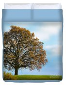 Alone On The Hill Duvet Cover