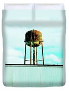 Along Highway 61 Duvet Cover