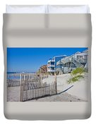 Along The Beach Duvet Cover