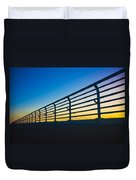 Along The Bridge Duvet Cover