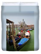 Along The Grand Canal  Duvet Cover