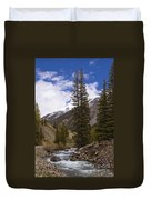 Along The Silverton Northern Duvet Cover