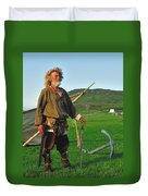 Along The Viking Trail Duvet Cover