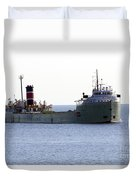 Alpena Ship Duvet Cover