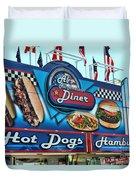 Al's All American Diner Duvet Cover