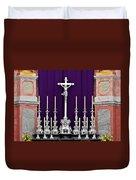 Altar Dresdener Hofkirche Duvet Cover