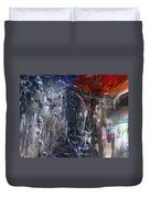 Altered Second Movements Duvet Cover by Linda Sannuti