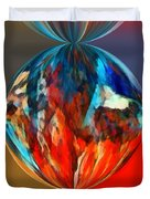 Alternate Realities 1 Duvet Cover by Angelina Vick