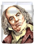Alun Armstrong Plays Jeremiah Flintwich Duvet Cover
