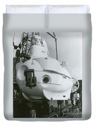 Alvin, Deep Sea Ocean Research Vessel Duvet Cover