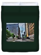 Am And As Downtown Buffalo Duvet Cover