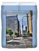 Am And As Downtown Buffalo Vert Duvet Cover