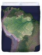 Amazon River Sources Duvet Cover