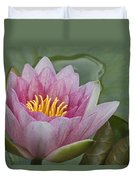Amazon Water Lily Victoria Amazonica Duvet Cover