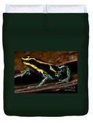 Amazonian Poison Frog Duvet Cover