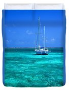 Ambergris Caye Duvet Cover
