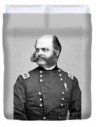 Ambrose Burnside, Union General Duvet Cover