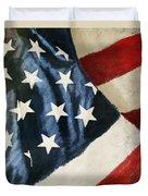 America Flag Duvet Cover