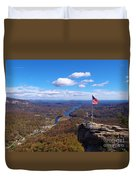 America The Beautiful Duvet Cover by Crystal Joy Photography