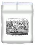 American Boxing, 1859 Duvet Cover