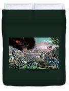 American Civil War, Capture Of Atlanta Duvet Cover