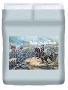 American Civil War, Storming Of Fort Duvet Cover