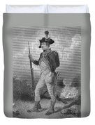 American Continental Soldier Duvet Cover