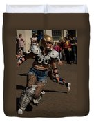 American Football Hero Duvet Cover