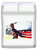 American Girl Duvet Cover