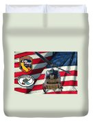 American Hero 1 Duvet Cover