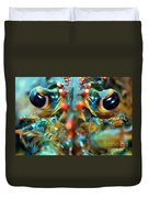American Lobsters Duvet Cover