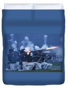 American Night Battle Duvet Cover