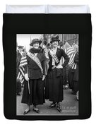 American Suffragists Duvet Cover
