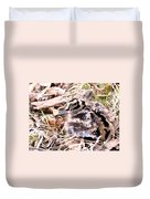 American Woodcock Chick Duvet Cover
