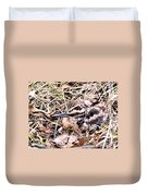 American Woodcock Chick No. 2 Duvet Cover