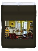 Americana - 1950 Kitchen - 1950s - Retro Kitchen Duvet Cover